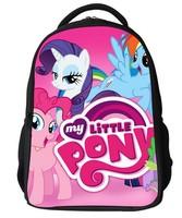 New design my little pony children backpacks for girls,cartoon kindergarten school bags for little girls,cute kids backpack free