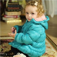Winter women, girls jackets, children's winter thick cotton overcoats out clothes