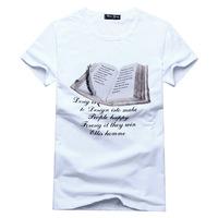 2014Summer new men's short-sleeved T-shirt short-sleeved T shirt personalized fashion summer clothing