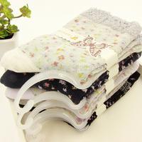 New fashion ladies small floral tube socks cotton socks, 10pairs/lot wholesale boneless flower cute socks 9422