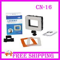 Nanguan CN-16 102 Pcs LED Video Light Lamp for Flash Speedlite Camera Camcorder