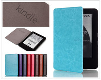 For Amazon 2014 New Kindle 6 inch 7th Gen Luxury Crazy Horse Ultra Slim Smart Leather Magnets Clasp E Book Case E-Reader Cover