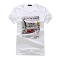 2014 new fashion men's short-sleeved T-shirt cotton T-shirt cool summer T shirt