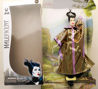 Anime Maleficent action figure dark beauty collection doll Maleficent witch 11'' doll toy for kids with 6 joints movable