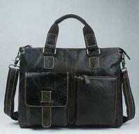 Guaranteed 100% Natural Genuine leather Men Bag shoulder tote leather men travel bags men 's bags handbags briefcase New Fashion