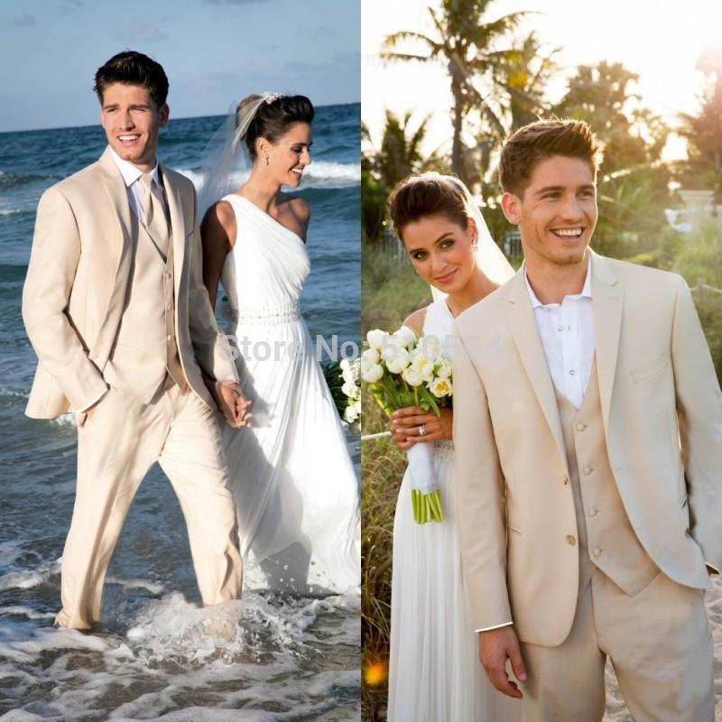 Cream Wedding Suits For Men Made Men Suit Beige Cream