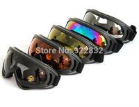Lot 2Pcs Motorcycle BIKE OFF ROAD RACING SKI GOGGLES Glasses X-400 UV400 Unisex Snowboarding Eyewear Sunglasses-New