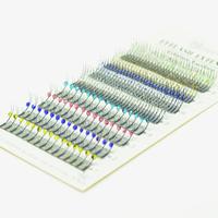 Eyemix Glitter and Shimmery Mix Design Diamond Y Individual Eyelash Extension 6 Colors Crystal False Eye Lash Freeshipping
