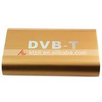 DVB-T Digital Car TV Receiver Box w/ Antenna for European ,Free Shipping