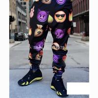 2014 new fashion unisex mens emoji joggers sports sweatpants pyrex hba yeezy swag jogger pants