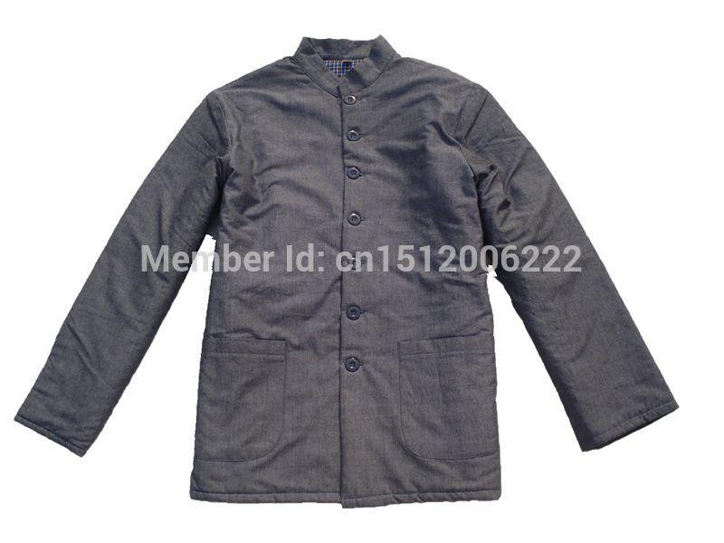 Male male cotton padded jacket collar jacket limited edition winter clothing(China (Mainland))