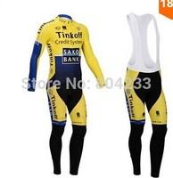 Free Shipping!2014 Men cycling jersey Bicycle SAXO BANK bicicleta mountain bike maillot ropa ciclismo shirt clothing
