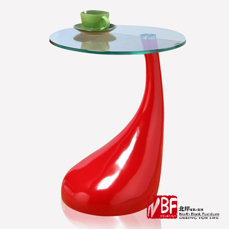 North Shore furniture glass paint a few small coffee table minimalist modern angular edges a few phone a few side table CT29(China (Mainland))
