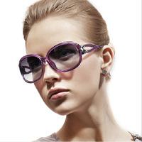 AEVOGUE Free Shipping with Original case Newest cat eye Classic brand len box glasses sunglasses women vintage C