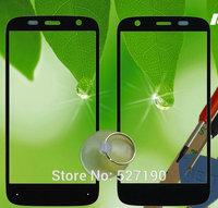 10 Pcs/Lot Black Original Outer Screen Lens Front Glass Digitizer Replace For Motorola MOTO G XT1032 XT1033 XT1036+Free Tracking