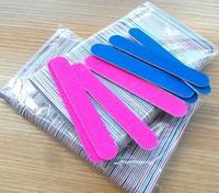 Professional Nail Files nail Buffer Buffing Slim Crescent Grit nail tools disposable nail file  free shipping