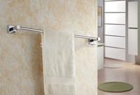 high quality 60cm solid brass copper towel bar arm towel holder rack rail bathroom accessories para banheirotoalha de banho