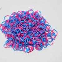 600 PCS Rubber Bands Loom Set Multy Colors DIY Bracelet Anklet Candy Colorful Loom Bands Opp Bag 10 bag/single color BOS.L28