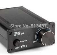 MUSE M20 EX2 TA2020 T-Amp Mini Stereo Amplifier 20WX2 - Black