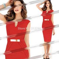 Freeship Top Quality 5T5126 S M,L XL,XXL 2014 New Women Winter Bodycon Pencil Dress Brand Fashion Lady Celebrating Party Dress