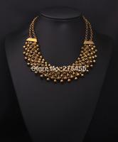 N2062  new fashion women quality jewelry product high quality necklace jewelry old gold necklace