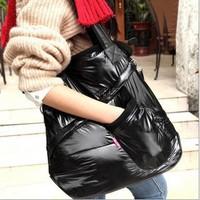 2014 Winter Cotton Fashion Women Handbag  Women Shoulder Bag Warm Handbags