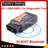 2014 elm327 bluetooth ELM 327 Interface OBD2 OBD II Auto Car Diagnostic Scanner OBDII Android