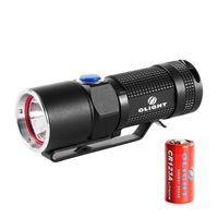 Olight S10-L2 Flashlight Side-switch LED Flashlight 400 Lumens W/ CR123A Battery
