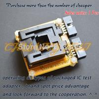 TQFP44 QFP44 test socekt for AVR ISP/JTAG mega16 mega32 mega164  adapter