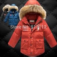 2014 Brand Children Down Jacket children outerwear Warm boy coat winter jacket for boy children's winter jacket free shipping