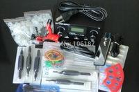 Tattoo  Kit Dragonfly Rotary Tattoo Machine Guns Supply Set Equipment power supply needles tips For  Tattoo Kit Complete Supply