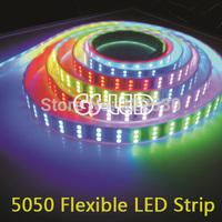 RGB5050 Flexible LED Strip 1812.144leds/M.Epistar LED Chip.IP67.DC12V