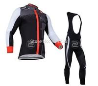 Free Shipping!2014 Men's CASTELLI jersey wear long Sleeve cycling Jersey+bibs pants/cycling wears/cycling clothes/Size:XXS-XXXXL