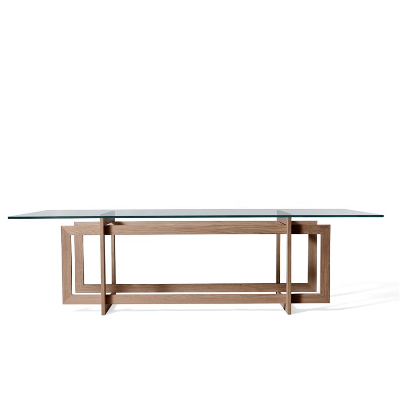 Direct modern minimalist 6 seater glass dining table sets  : Direct modern minimalist 6 seater glass dining table sets all solid wood shelf new minimalist furniture from www.aliexpress.com size 800 x 800 jpeg 86kB