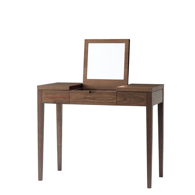 Walnut quality custom oak dresser mirror modern minimalist design new wood finishes nationwide Shanghai , Changzhou(China (Mainland))