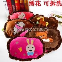 Carton Hands Warmer Pillow Interpose Pillow Plush Toy Cloth Hand Warming Sleeve With Zipper Detachable Fashions