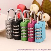 New Arrivals! Focus on wholesale high quality non-TSA lock 3090 type password lock, luggage padlock color random