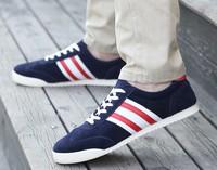 2014 fall new wholesale Korean fashion men's sports canvas shoes breathable men 's casual shoes