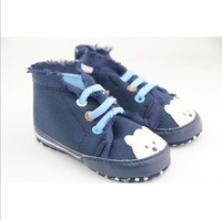 Babyshows small bear elastic strap baby toddler shoes baby shoes free shopping
