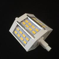 30pcs/lot Factory Sale R7S LED 10W SMD5730 78.2mm LED light bulb corn bulb AC85-265V Free shipping dhl