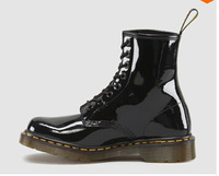 High Quality Dr.1460 8Genuine leather martin boots vintage martin shoes women famous brand designer discount Locomotive boots