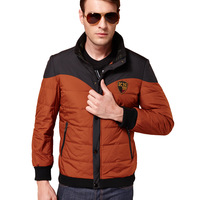 Down jacket for mens Winter mans coats 80% White goose down Warm Drop shipping New 2014 Autumn red khaiki green
