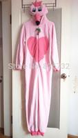free shipping women's coral velvet thicken long sleeve romper Pajamas ,women's flamingo onesie