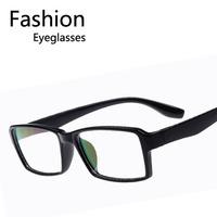 Wholesale Fashion Women Men Square Geek Nerd Spectacles Chic Cheap Eyeglasses Free shipping