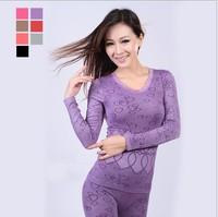 New 2014 Women Autumn and Winter Thermal Underwear Sex Bodysuit Thermo Warm Underwear Thin Women's Sleepwear Free Shipping