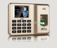 ZKT-ECO fingerprint attendance machine punch card machines, free shipping