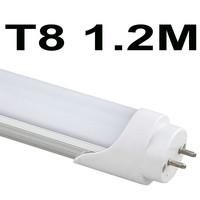 Free shipping NEW ENCONOMIC LED TUBE 120pcs/lot 18W 1200MM T8 LED Tube Light SMD2835 22LM/PC 96led/PC 2000-2200LM AC85-265V