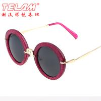 2014 new arrival fashion star circle vintage sunglasses