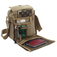Awesome! High Quality Multifunction Men Canvas Bag Casual Travel Bolsa Masculina Men's Crossbody Shoulder Bag Men Messenger Bags