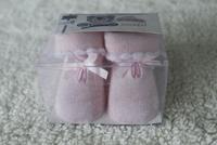 Baby socks newborn socks thickening loop pile 100% thermal cotton gift box set